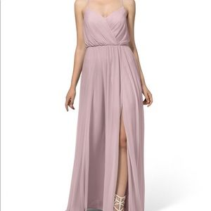 Azazie Darcy Vintage Mauve Dress